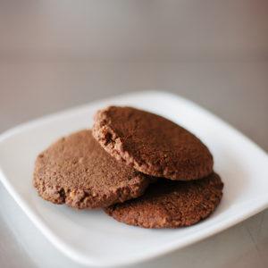 Chocolate Cookies Coconut Flour