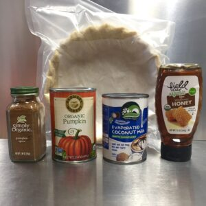 paleo pumpkin pie ingredients