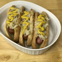 Paleo Hot Dog Buns