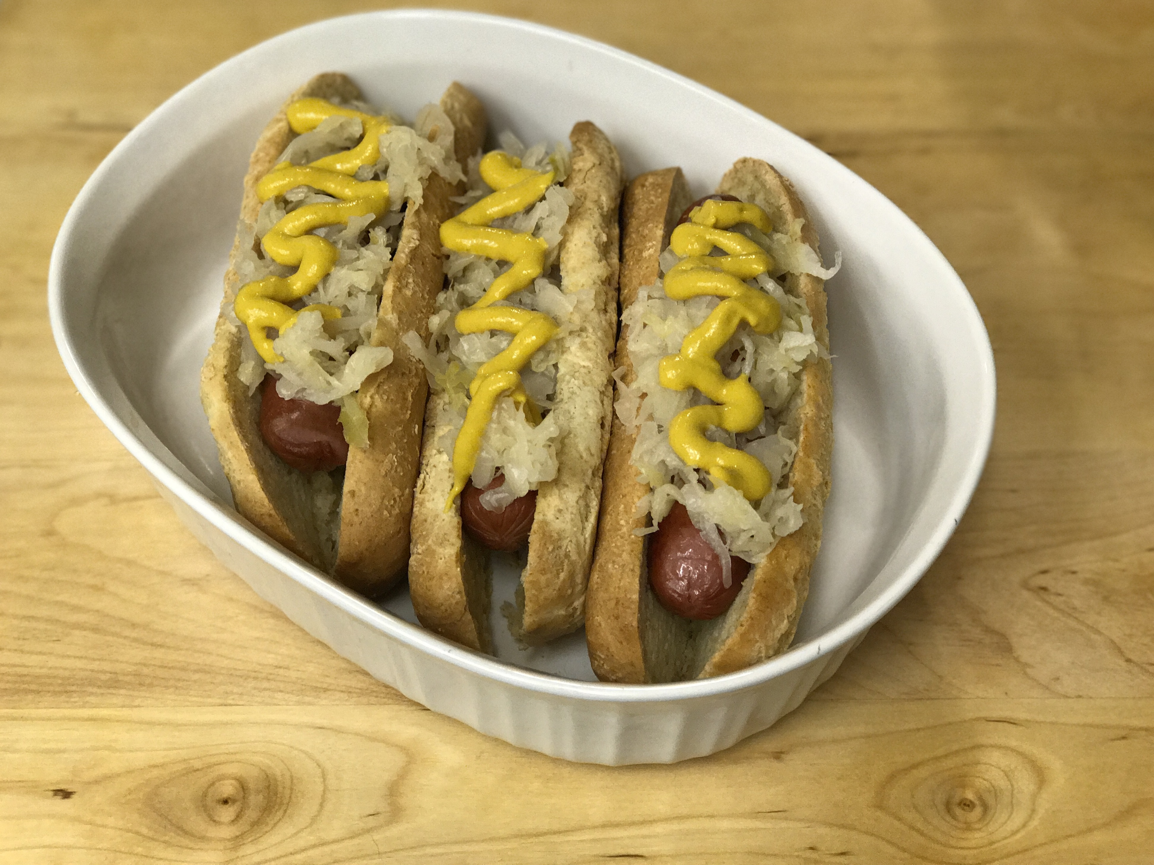 Paleo Hot Dog Buns