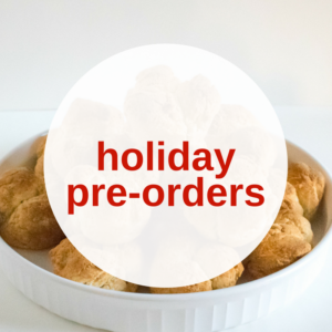 Holiday Preorders