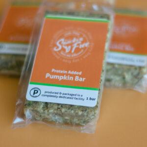 Paleo Protein Bar Pumpkin