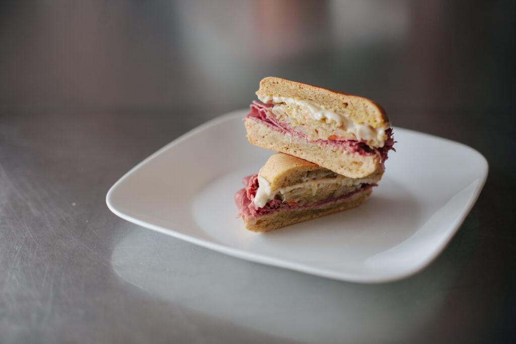 Paleo Reuben Sandwich