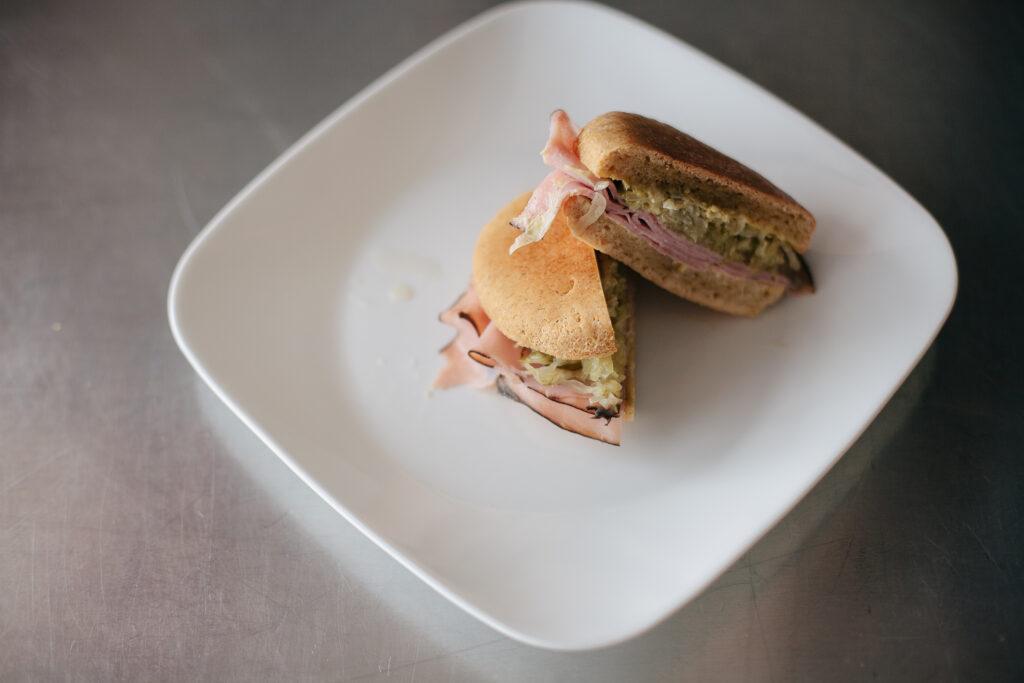 Paleo Roast Beast Sandwich