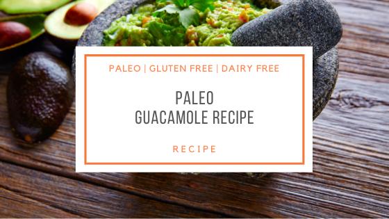 Paleo Guacamole Recipe
