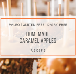 Homemade Paleo Caramel Apples Recipe